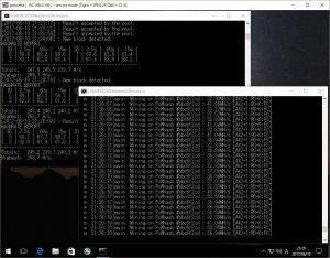 Windows PCでEthereumを採掘する 2017夏 - ブログ、くまさい。